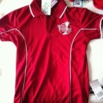 LSH3 Ladies Red Polo