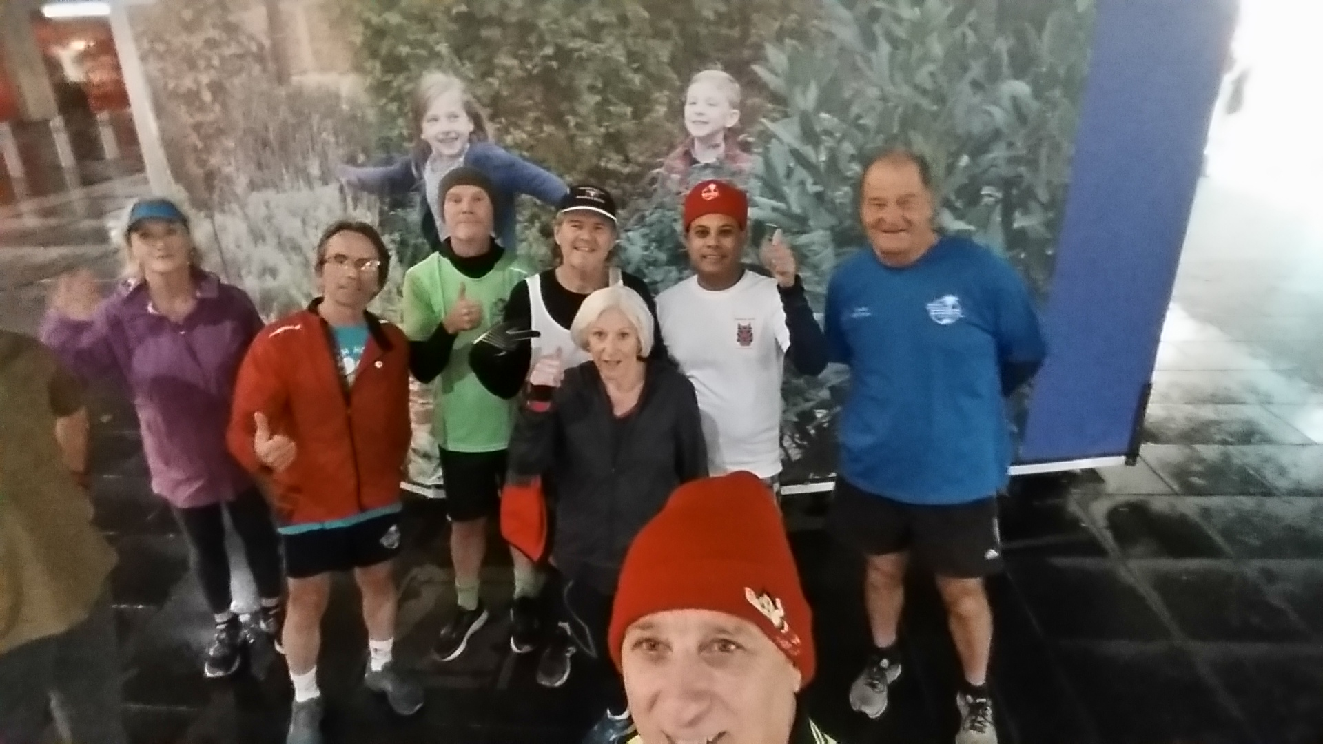 Selfies for Run 1910: Cyclone Tracy at Urban Alley Brewery